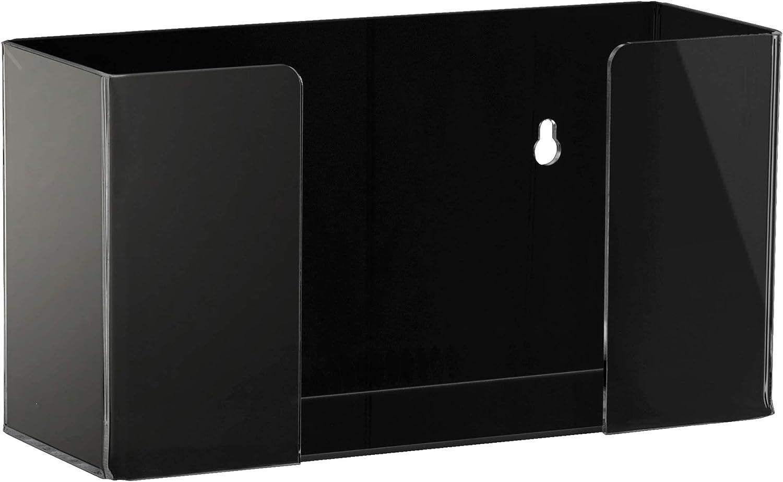 Adir Med Black Acrylic Glove Box Dispenser (1 Box Capacity)