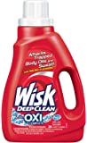Wisk Deep Clean Liquid Laundry Detergent Plus Oxi Complete, 26 Loads, 50 Ounce