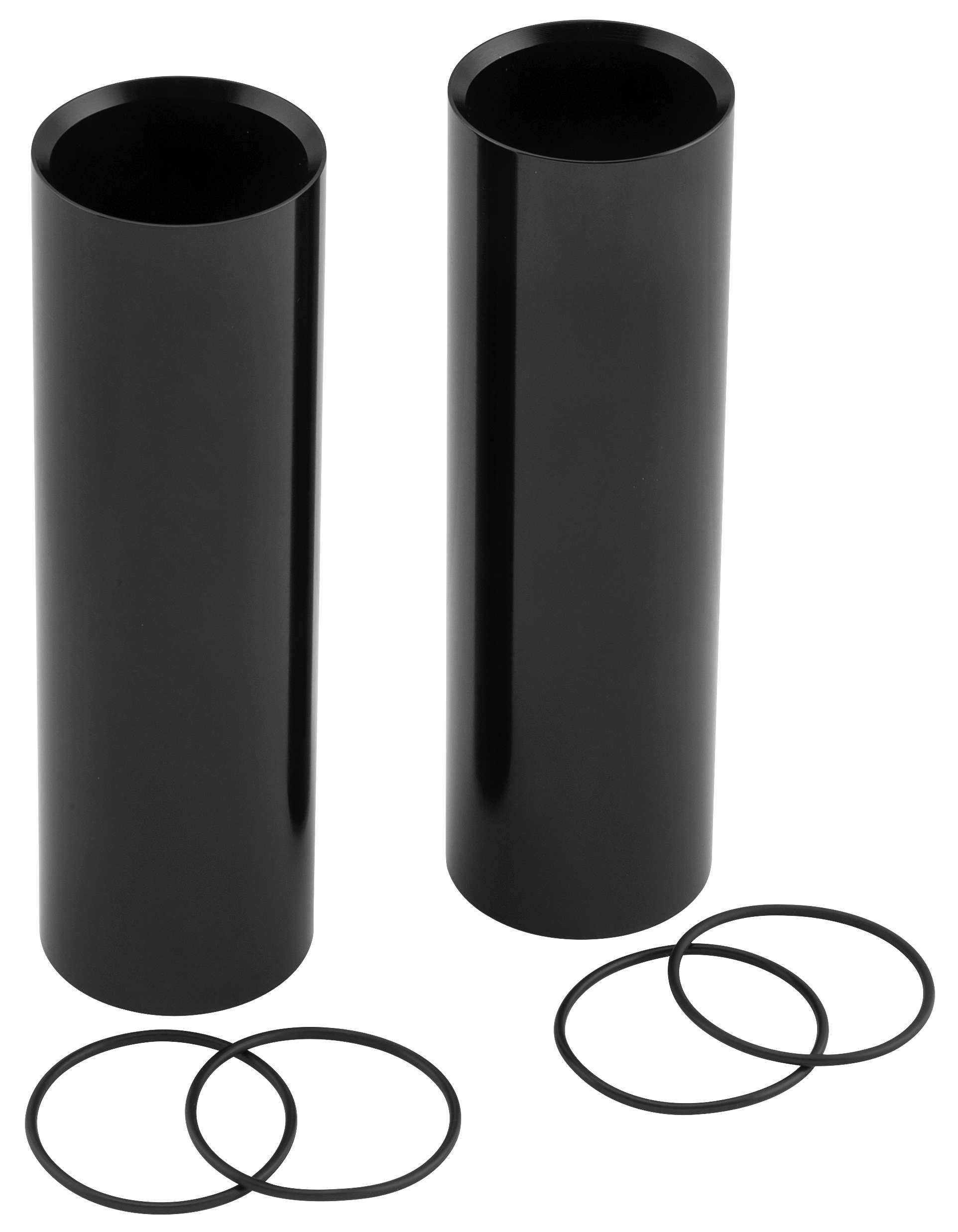 RSD 0208-2127-B Smoothie Upper Fork Covers - Gloss Black
