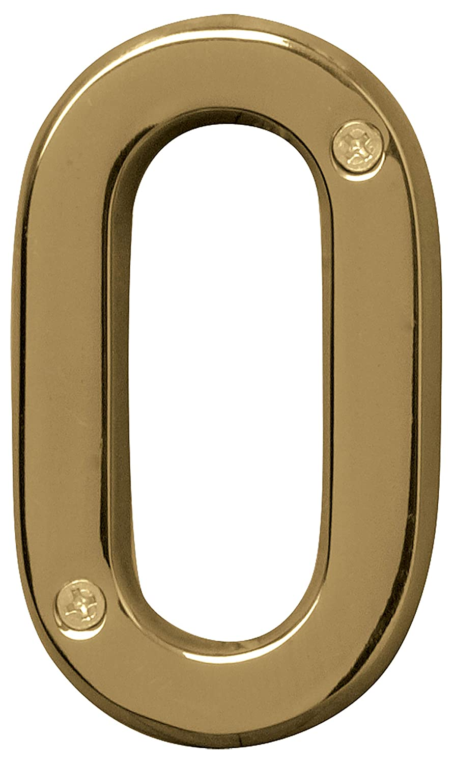 4 in in HY-KO Products BR-42OWB//1 Prestige House Number 1 Bronze ONE