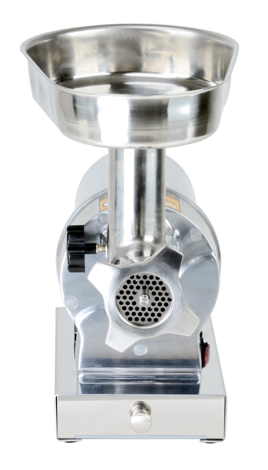 Kitchener #8 Commercial Grade Electric Stainless Steel Meat Grinder 1/2 HP (370W), (480-lbs Per Hour) by Kitchener (Image #5)