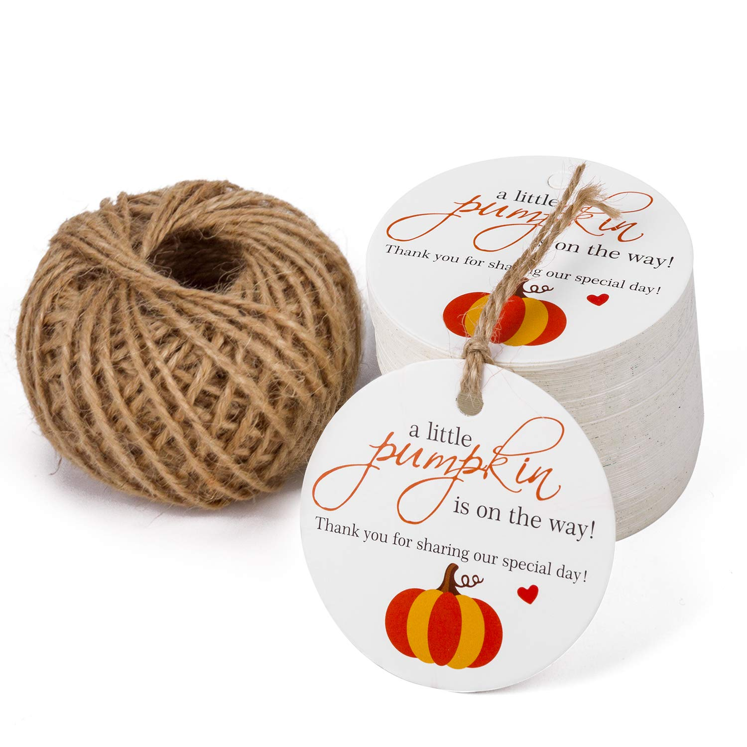 100PCS Valentines DayI DIG YOU Paper Tags with 100 Feet Natural Jute Twine for Valentine Day Party Favors WRAPAHOLIC Gift Tags with String