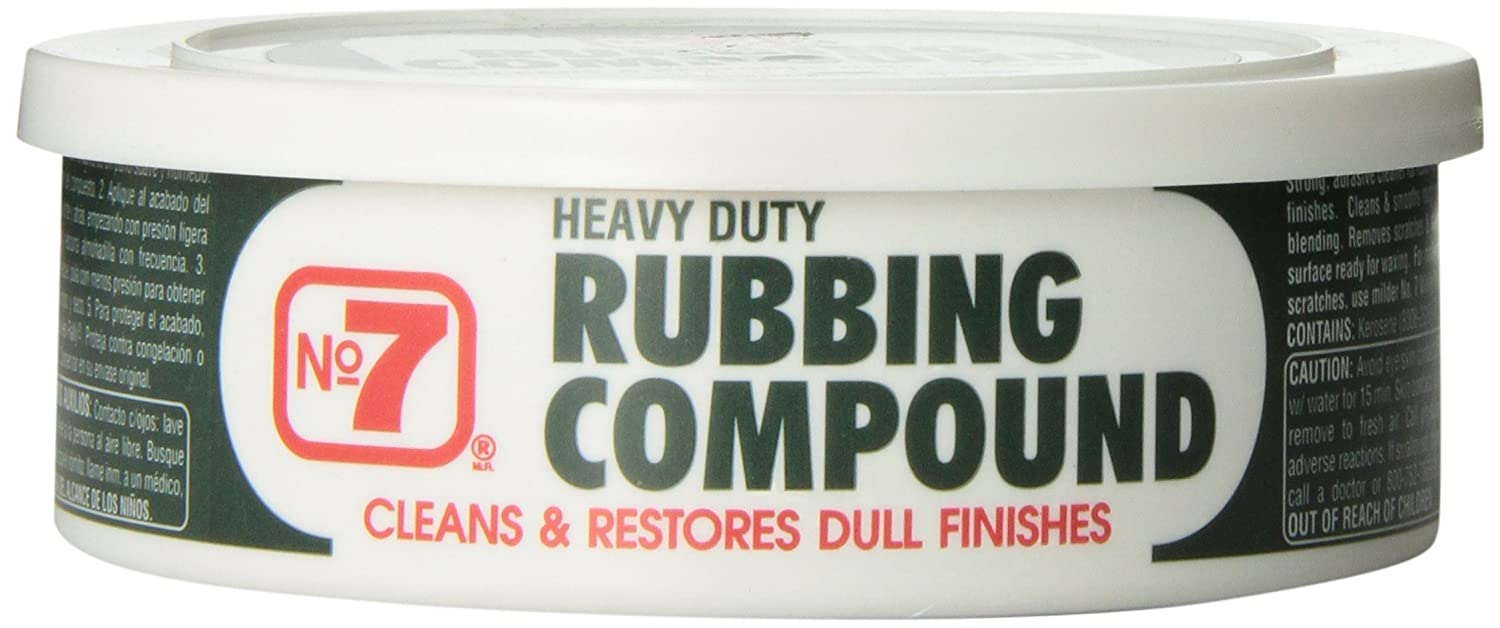 No7 08610 Rubbing Compound - 10 oz