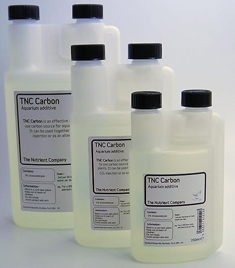 TNC Carbon - fertilizantes carbono líquido plantas acuario (500ml)