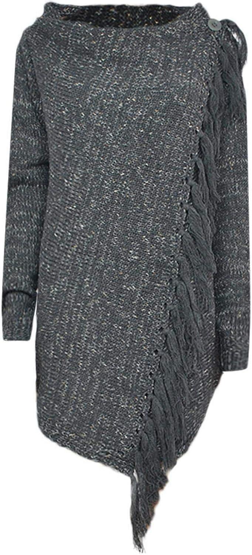 KAKAT Signora Sciarpa Nappa Media Lunghezza Scialle Cappotto Maglione Tinta Unita Vintage Calda Da Donna Sciarpa Con Scialle Caldo E Confortevole Regalo Di Natale