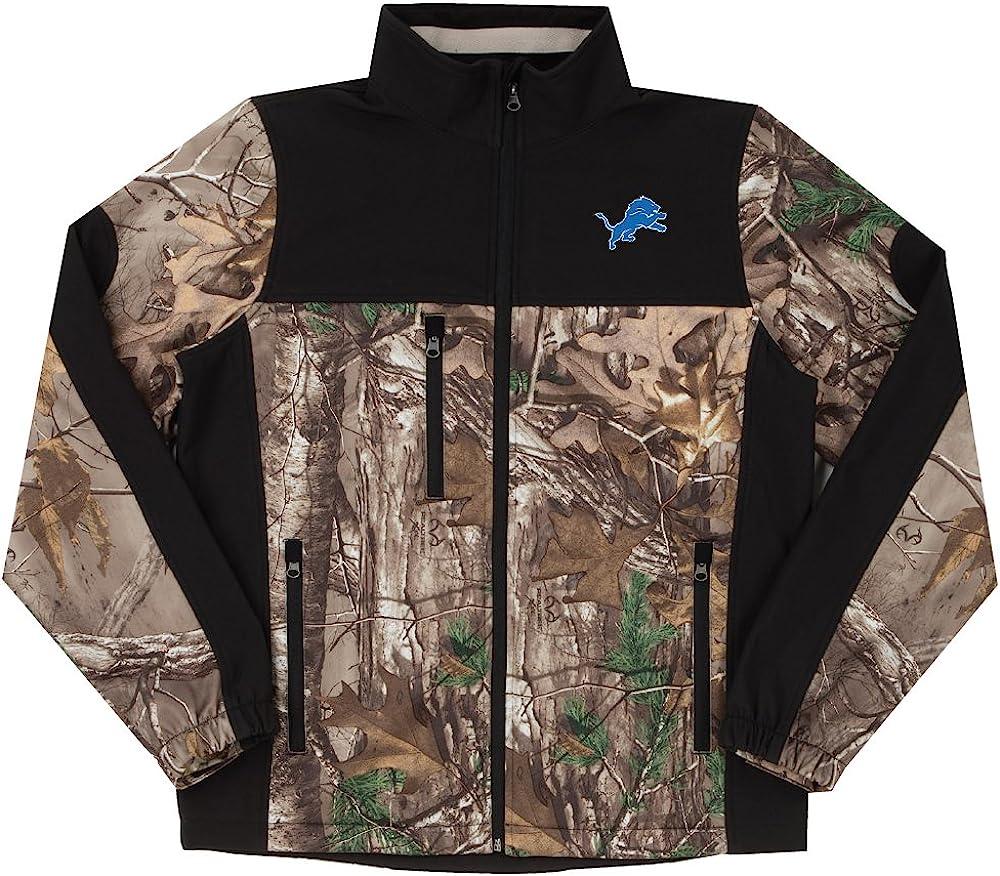 NFL Hunter Camoflauge Colorblock Softshell Jacket