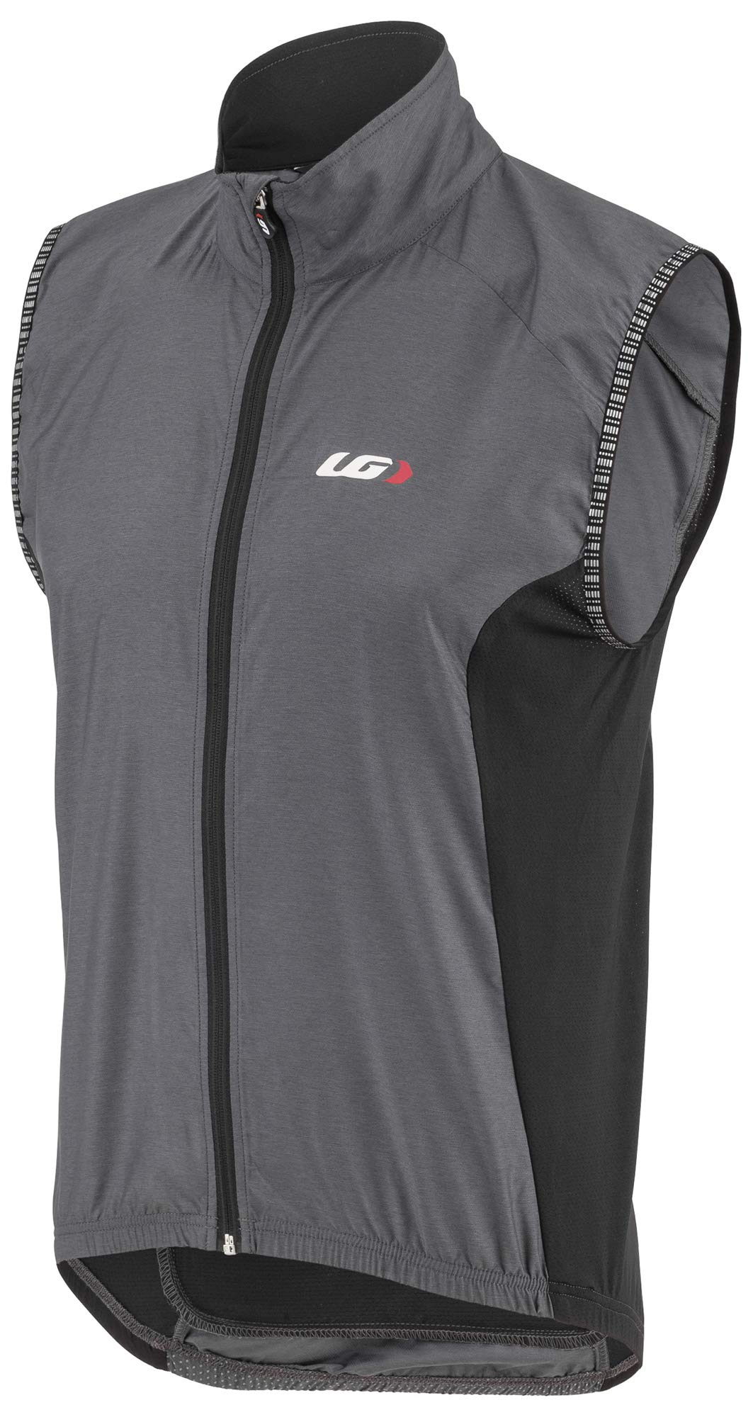 Louis Garneau Men's Nova 2 Bike Vest, Gray/Black, Medium by Louis Garneau