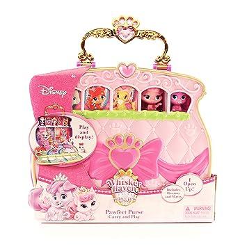 ed7fe0fc5bf Disney Princess Palace Pets Carry   Play Pawfect Purse Toy
