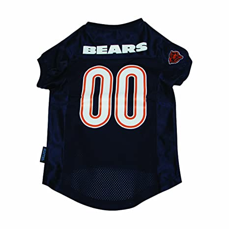 8c2db7a90 Amazon.com   NFL Chicago Bears Pet Jersey   Sports Fan Pet Jerseys ...