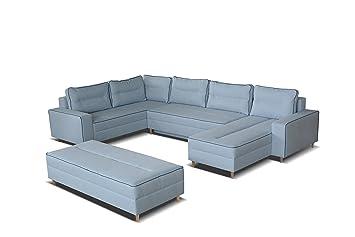 Mb Moebel Ecksofa Eckcouch Mit Bettkasten Mit Schlaffunktion Couch