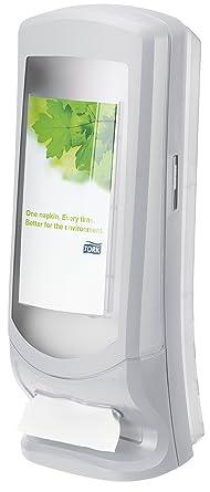 Tork Xpressnap 272213 Dispensador de servilletas vertical/Ideal para restaurantes/Sistema N4 / Gris
