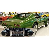 1968-1971 Chevrolet Corvette USA-630 II High Power 300 watt AM FM Car Stereo/Radio with Period Correct Knobs & iPod Docking Cable