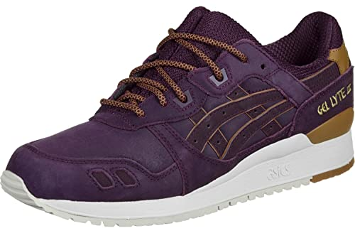 Zapatillas Asics Gel Lyte III Granate 40 5 Granate: Amazon.es: Zapatos y complementos