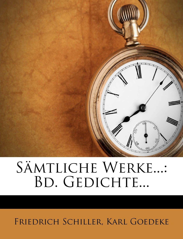 Download Samtliche Werke...: Bd. Gedichte... (German Edition) pdf epub
