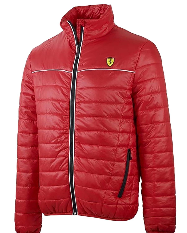 Ferrari - Chaqueta - Blusa - para hombre rojo XL: Amazon.es: Ropa y accesorios