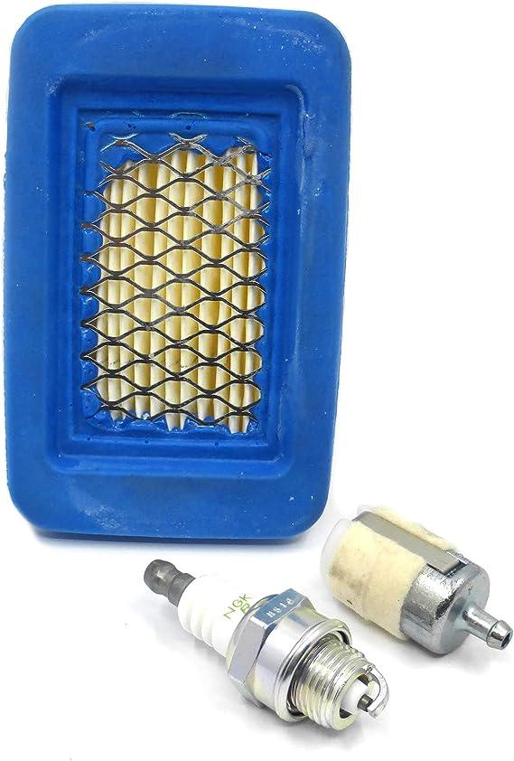 8x Luft Kraftstoff Filter Kit für Echo 2-Takt-Motor 90151 90070 90070C PB-620