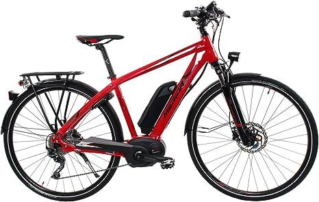 Hombre E-Bike 28 pulgadas – Merida S de mediaespresso Sport 410 – Bicicleta eléctrica 400 WH Batería, 10 marchas – Rojo, color rojo, tamaño 46 cm, tamaño de rueda 28.00: Amazon.es: Deportes y aire libre