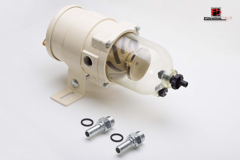 Racor 500fg Equivalent Fuel Filter Water Separator Duplex Mann Hummel Sports Outdoors