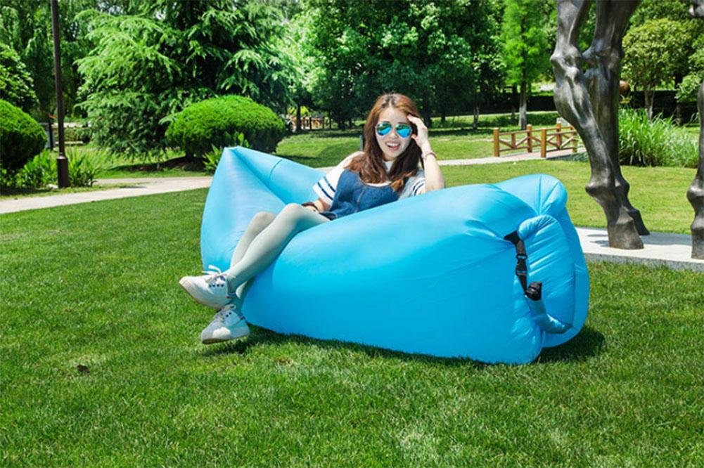 PW Pigro divano letto gonfiabile divano letto portatile per il tempo libero creativo divano letto aria gonfiabile