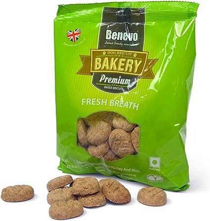 Amazon Com Benevo Fresh Breath Biscuits 250g Pet Supplies