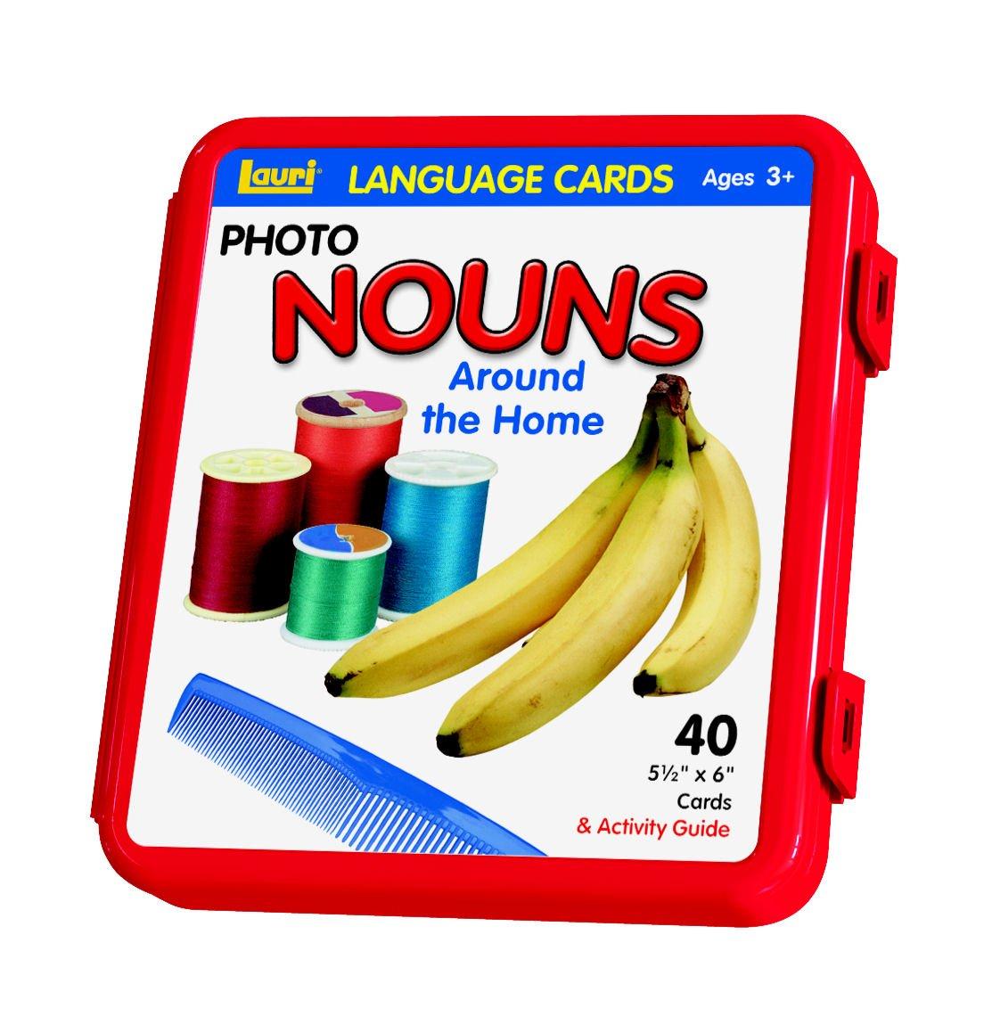nouns photo cards for teacher classroom students