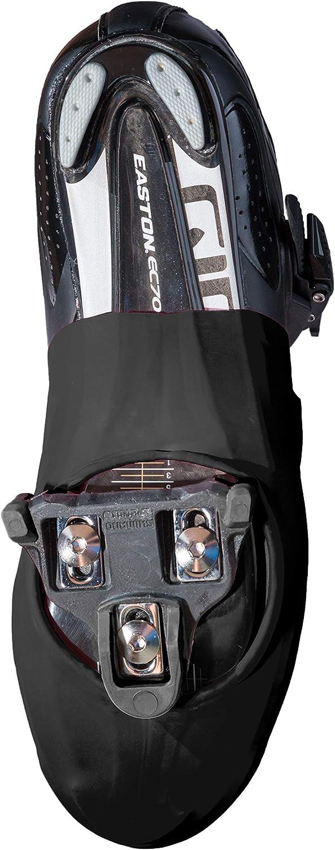 Black One Size TOE-BLK-001 VeloToze Toe Cover