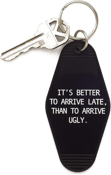 Groovy Keychain Accessory Art Keychain Keychain Retro Keychain Acrylic Keychain Not Here to Please You Keychain