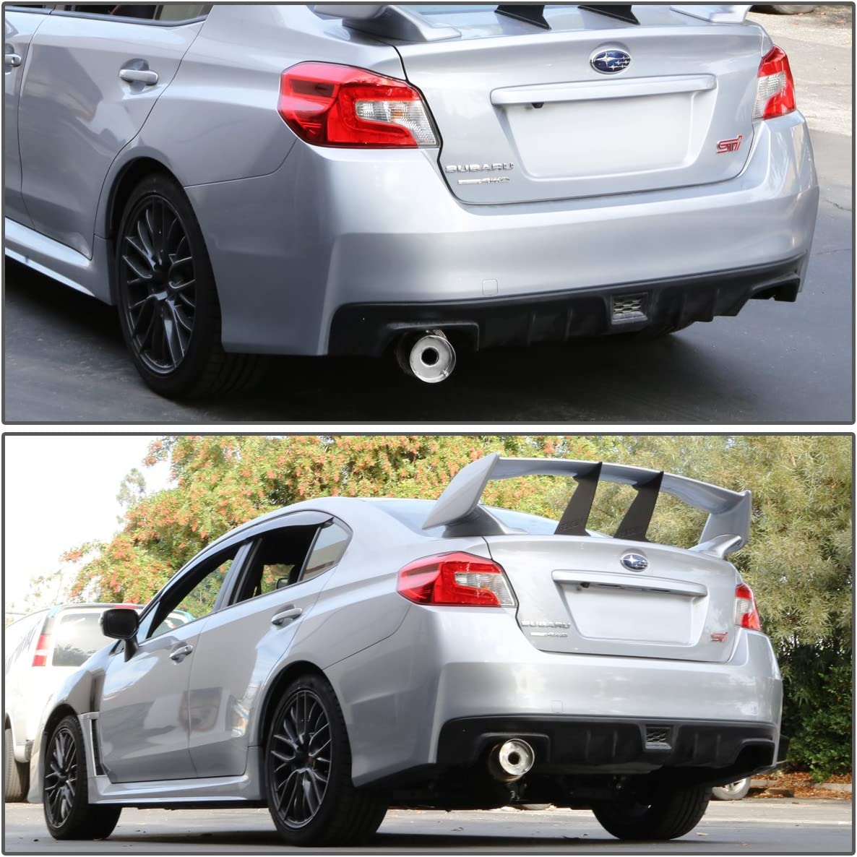For Subaru WRX//STI Muffler Tip Catback Exhaust System