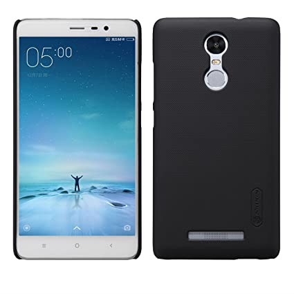 low priced 98c5f 8c1d3 Nillkin F-HC HM-Note 3 Super Frosted Shield Case for Xiaomi Redmi Note  3,(Black)Free Screen guard