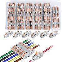 Conector conductor compacto de 50 piezas, conectores de unión compactos, certificación CE obtenida y conformidad RoHS…