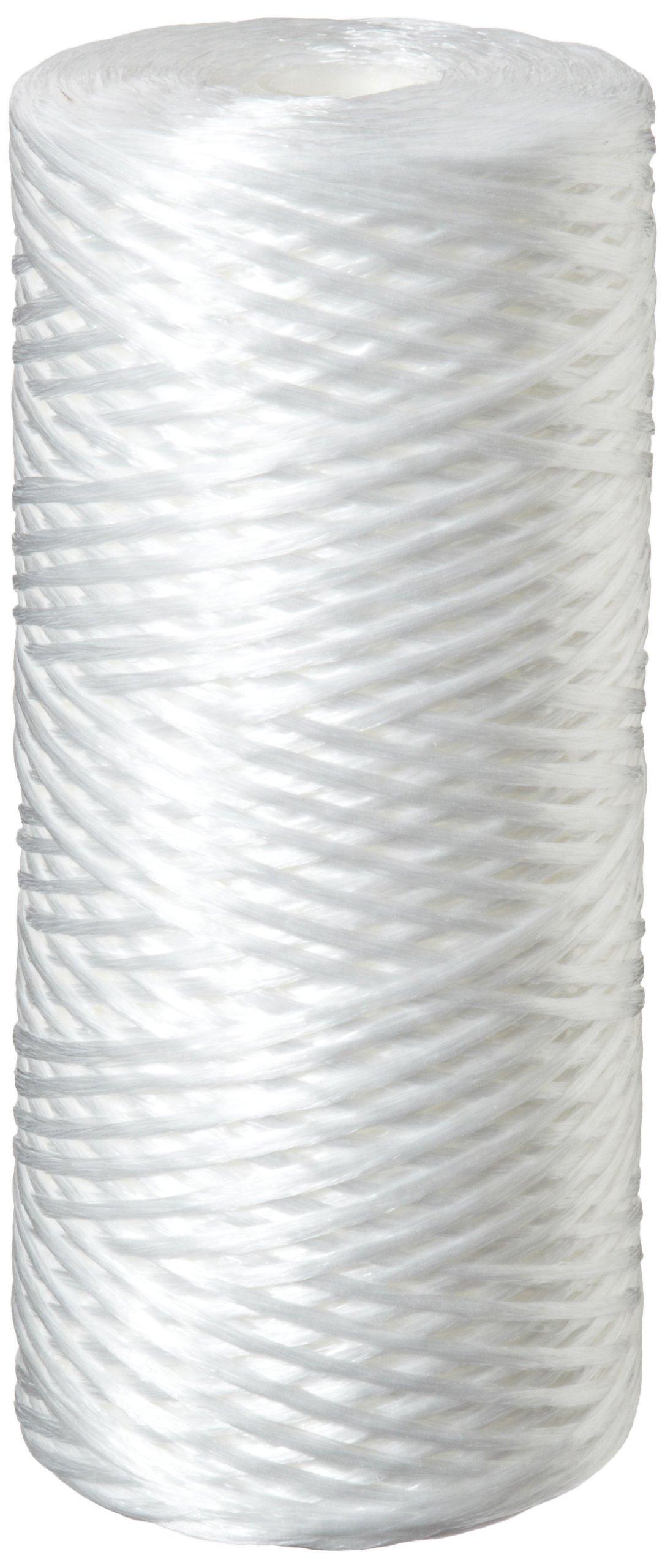 Pentek WPX10BB97P String-Wound Polypropylene Filter Cartridge, 10'' x 4.5'', 10 Microns