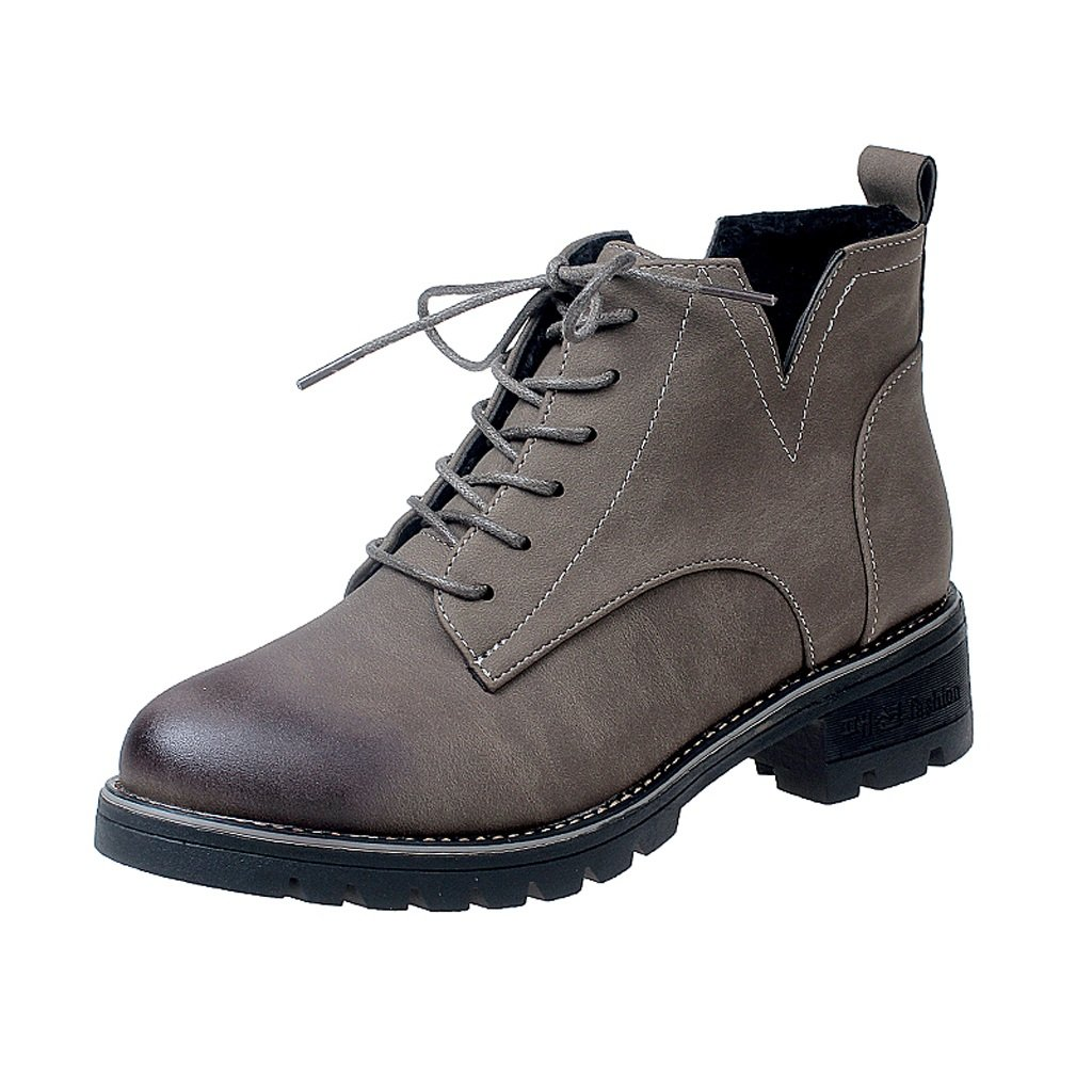 Women 's Martin boots autumn and winter thick bottom short boots ( Color : B , Size : US:6.5UK:5.5EUR:38 )