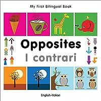 My First Bilingual Book -  Opposites (English-Italian)