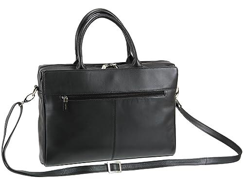 edae6c2fd948 Visconti Ladies Leather Briefcase Organiser Shoulder Handbag - (18427)