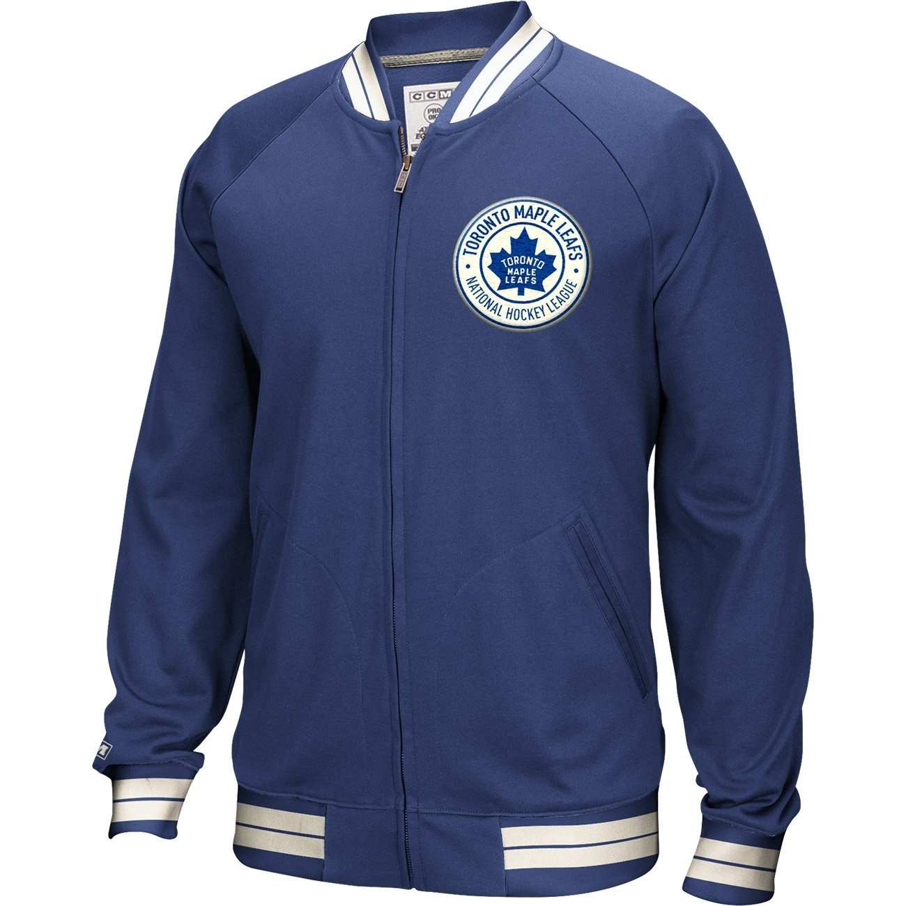 CCM Toronto Maple Leafs Full Zip NHL Track Jacke