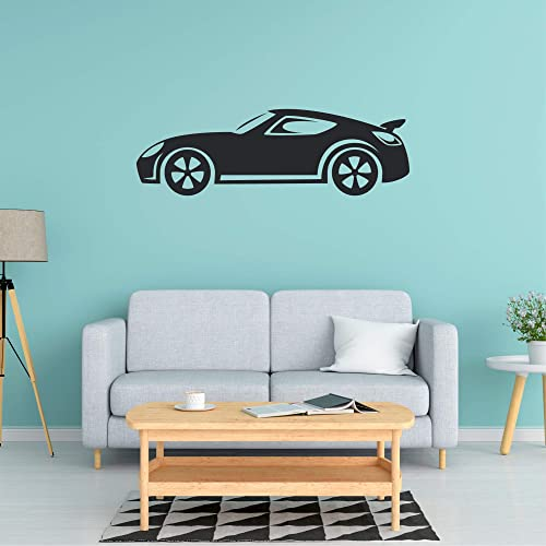 Amazon Com Car Wall Decal Car Wall Sticker Car Wall Art Multiple Sizes Wall Decorations For Bedroom Family Room Wall Decal Wall Decals For Kids Rooms Game Room Wall Decal Wall Decals For