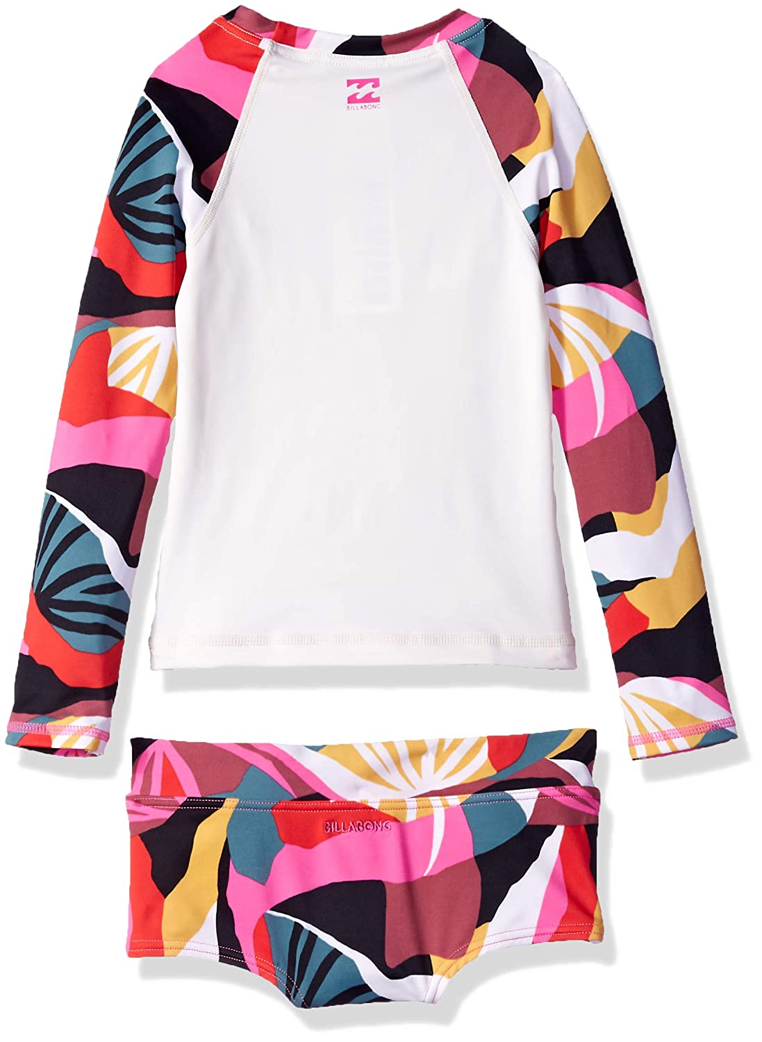 Billabong Big Girls Dream Time Long Sleeve Rashgaurd Set Y203SBDR