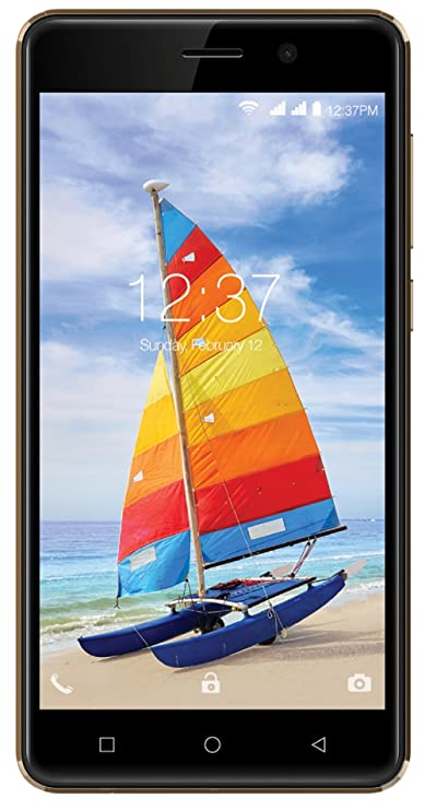 Intex Aqua Strong 5.1+  Gold  Smartphones   Basic Mobiles
