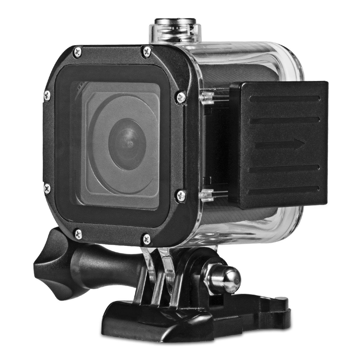 iTrunk Waterproof Housing Case for GoPro Hero 5 Session, Underwater Protective Waterproof Housing Shell with Tempered Glass Lens for GoPro Hero5 Session Hero4 Session
