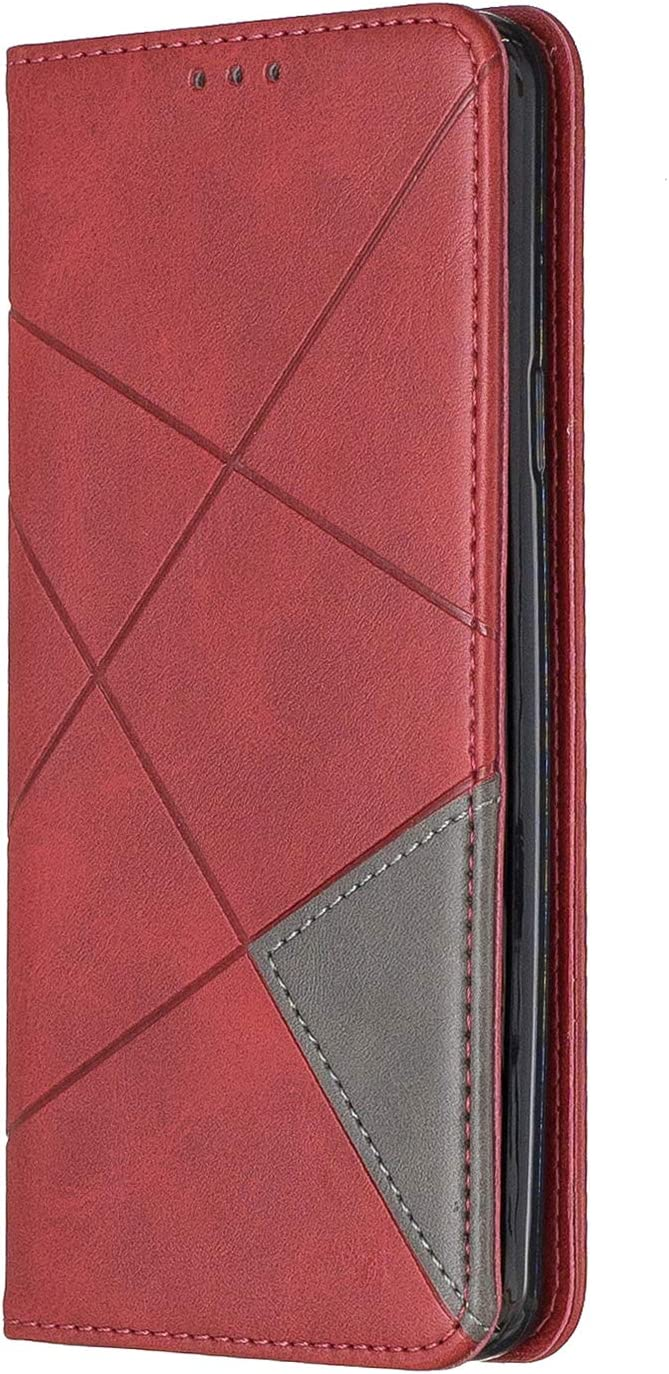 // G965 Case Leather Wallet Case with Kickstand Card Holder Shockproof Flip Case Cover for Samsung Galaxy S9+ - LOBFE160117 Brown Lomogo Samsung Galaxy S9+ S9Plus S9 Plus