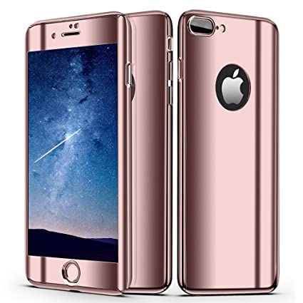 Amazon.com: VPR - Carcasa para iPhone 8 Plus, ultrafina, 360 ...