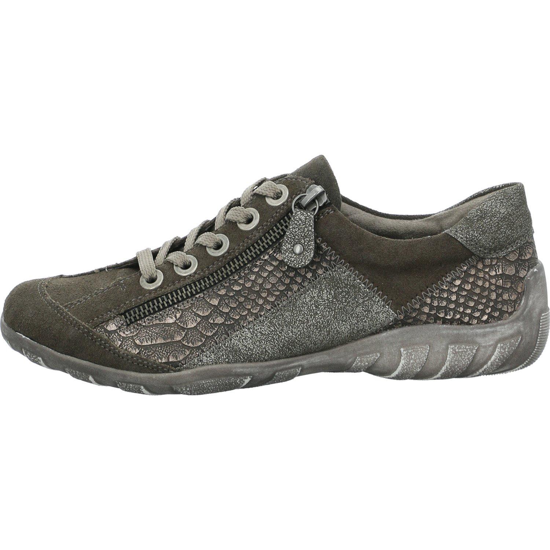Remonte R3419, Zapatillas para Mujer 37 EU Black Grey (42)