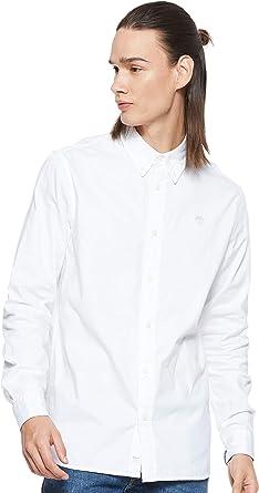 Timberland.. - Camisa Casual - para Hombre Bianco L: Amazon.es: Ropa y accesorios