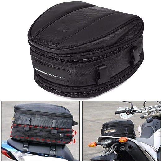 Motorrad Hecktasche 10 L Wasserdicht Oxford Stoff Satteltasche Helm Schultertragetasche Schwarz Baumarkt