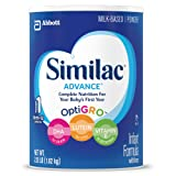 Amazon Price History for:Similac Advance Infant Formula with Iron, Powder, One Month Supply  36 Ounces ( 3 Pack )