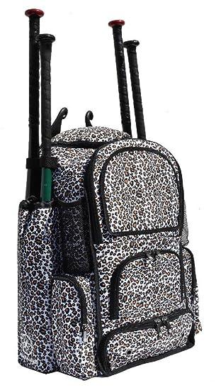 Amazon.com : Cheetah Print Chita M Softball Baseball Bat Equipment ...