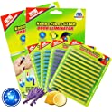 48-Piece Coodoo Drain Cleaner Sticks Sink Deodorizer Clog Remover