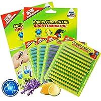 48-Piece Coodoo Drain Cleaner Sticks Sink Deodorizer Clog Remover