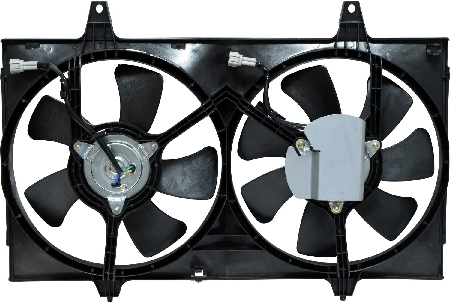 Universal Air Conditioner FA 50142C Dual Radiator and Condenser Fan Assembly