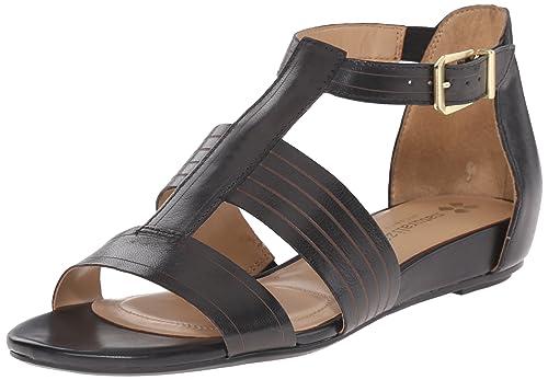 Amazon.com   Naturalizer Women s Longing Gladiator Sandal   Flats f7a16d2c3663